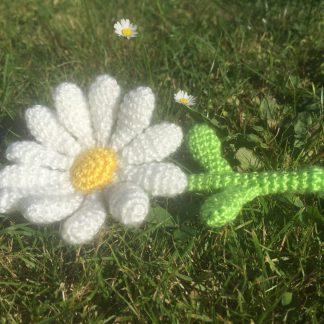gehaakte bloem madelief