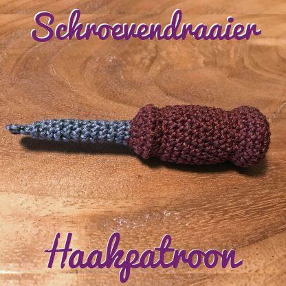 Haakpatroon-Schroevendraaier