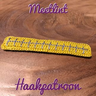 Haakpatroon-meetlint