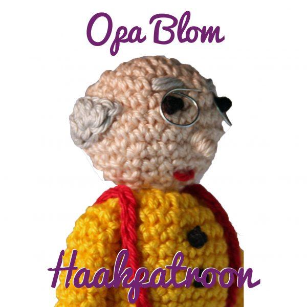 Haakpatroon-opa-blom