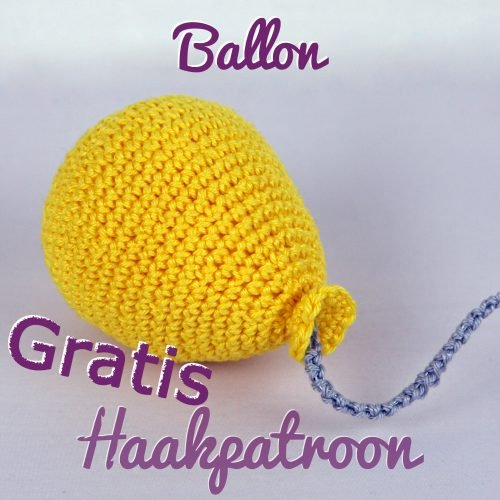 Gratis Haakpatroon Ballon Uit Het Boekje Ssst De Tijger Slaapt