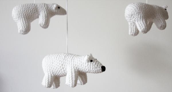 Gehaakte-ijsbeer