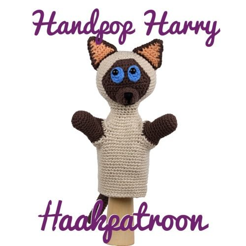Haakpatroon Handpop Harry Haked