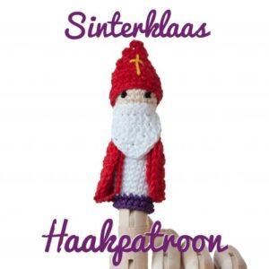 vingerpopje Sinterklaas-haakpatroon