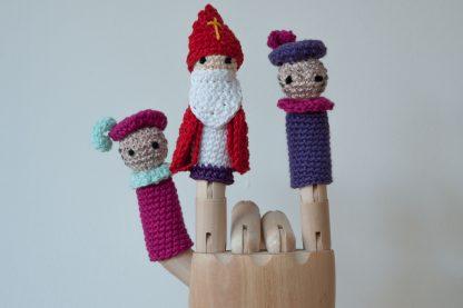 vingerpoppetje Sinterklaas-pieten-haken