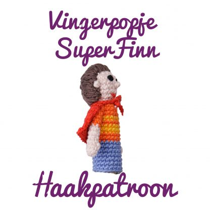 productfoto superfinn vingerpopje haakpatroon