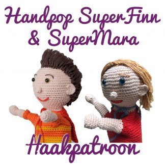 productfoto superfinn en supermara handpop haakpatroon